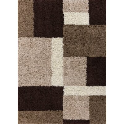 Marci Beige/Brown Indoor Area Rug Rug Size: Rectangle 5 x 72