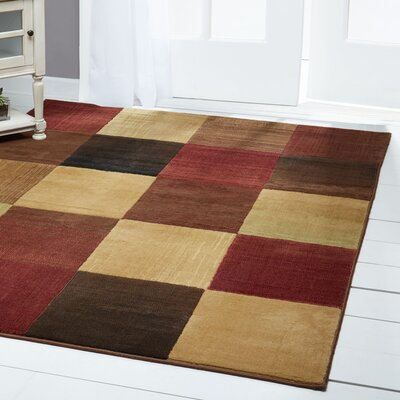 Ferrell Checkered Area Rug Rug Size: Rectangle 33 x 52
