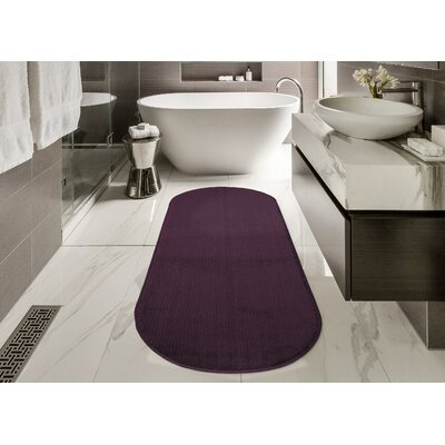 Gehl Oval Purple Area Rug