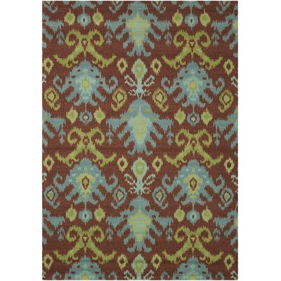 Dorothea Chocolate Area Rug Rug Size: Rectangle 5 x 7