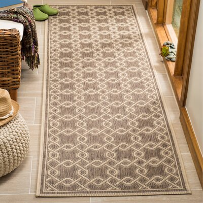 Joliet Brown/Cream Area Rug