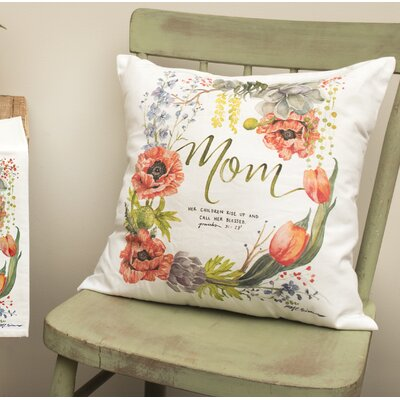 Gracey Mom Throw Pillow