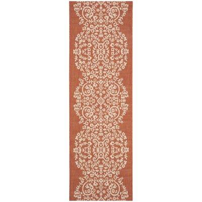 Joliet Tapestry Cinnamon Stick Area Rug Rug Size: Runner 27 x 82