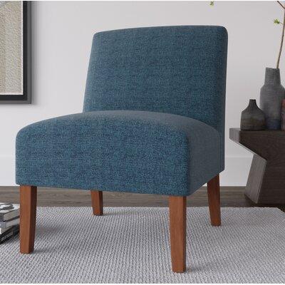 Alleyton Slipper Chair Upholstery: Indigo