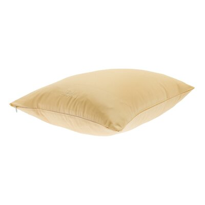 Conrad Travel Pillowcase Color: Butter