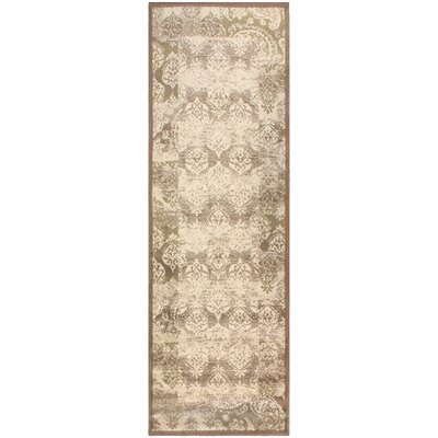 Ellen Brown Area Rug Rug Size: Runner 27 x 8
