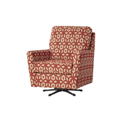 Wodome Swivel Armchair Upholstery: Forte Ruby