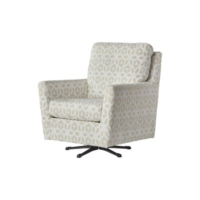 Wodome Swivel Armchair Upholstery: Fort Vanilla
