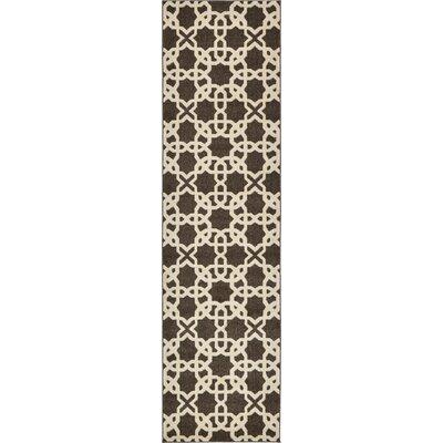 Moore Brown Area Rug Rug Size: Runner 27 x 10