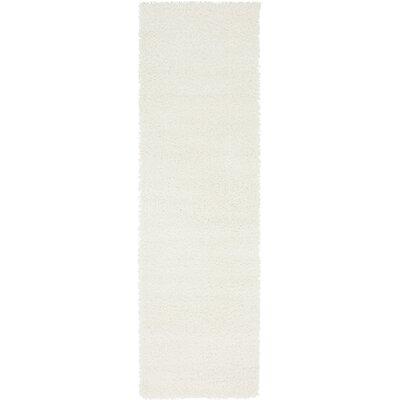 Kostka White Area Rug Rug Size: Runner 2 x 67