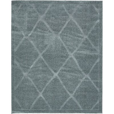 Chester Light Blue Area Rug Rug Size: Rectangle 8 x 10