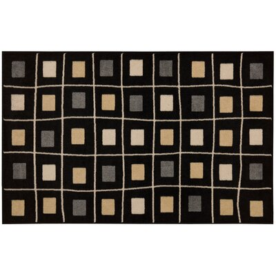Lesley Black Area Rug