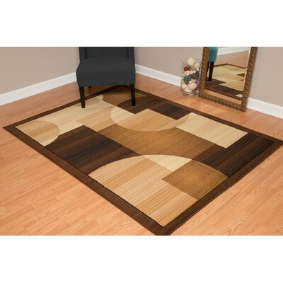 Jerome Brown/Beige Area Rug Rug Size: 111 x 33