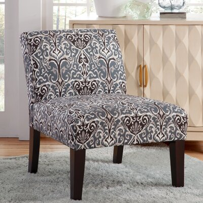 Gruver Slipper Chair Upholstery: State Blue/Tan