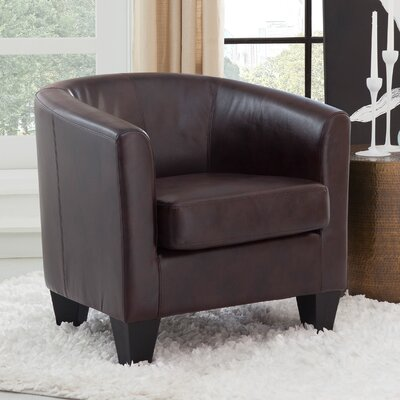 Colden Barrel Chair Upholstery: Coffee