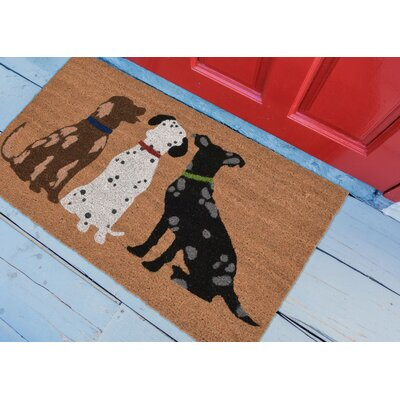 Horsham Three Dogs Utility Mat