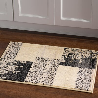 Danica Cream Area Rug Rug Size: Rectangle 2 x 3