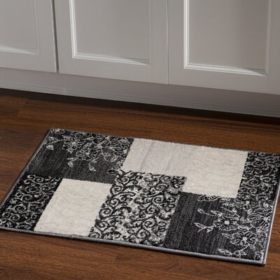Danica Grey Area Rug Rug Size: Rectangle 2' x 3'
