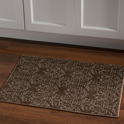 Kristine Brown Area Rug Rug Size: Rectangle 2 x 3
