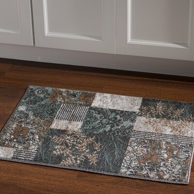 Danica Turquoise Area Rug Rug Size: Rectangle 2 x 3