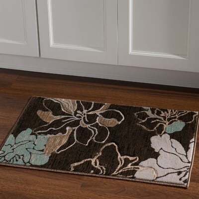 Carlee Brown/Sand Area Rug Rug Size: Rectangle 110 x 210