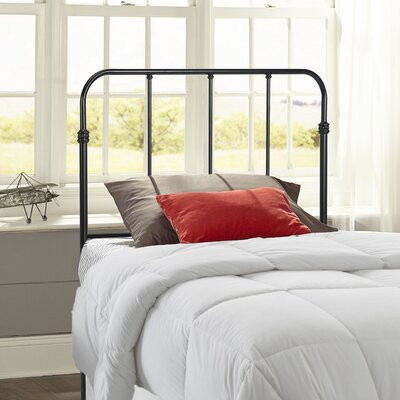 Collin Metal Kids Headboard Size: Full, Finish: Space Black