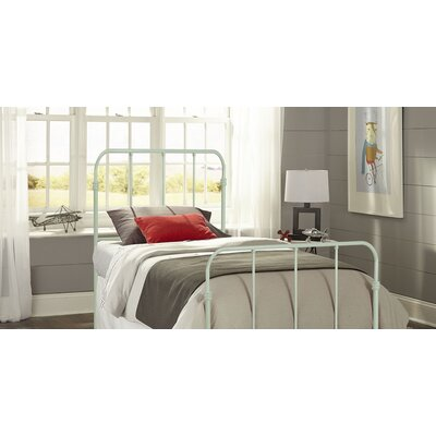 Collin Kids Bed with Metal Duo Panels Finish: Mint Green, Size: Twin