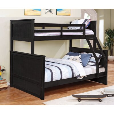 Ciera Twin over Full Loft Bunk Bed Color: Charcoal Grey