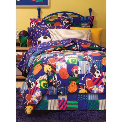 Keven All Star Bed-In-A-Bag Set Size: Full