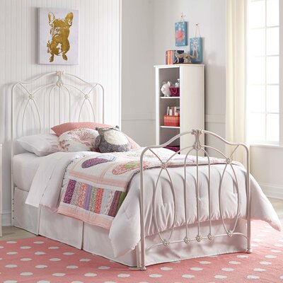 Damion Metal Panel Bed Size: Twin