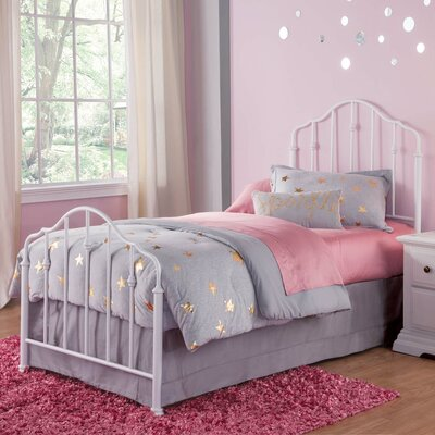Dandre Metal Panel Bed Size: Twin