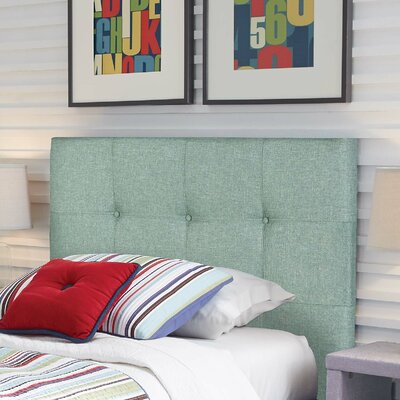 Betty Modern Upholstered Panel Headboard Size: Twin