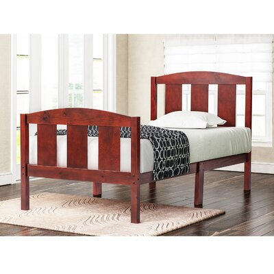 Chartier Solid Twin Platform Bed Mattress