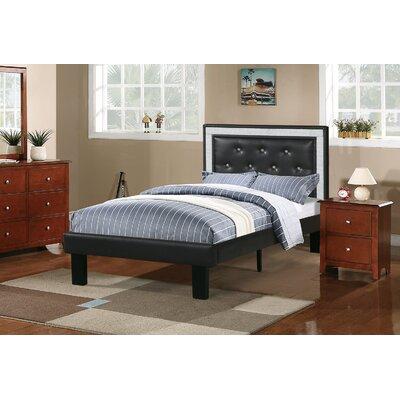Balke Twin Platform Bed Color: Espresso