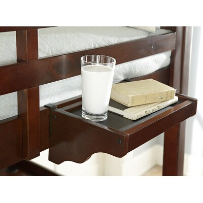 Ayalisse Hanging Nightstand Color: Walnut