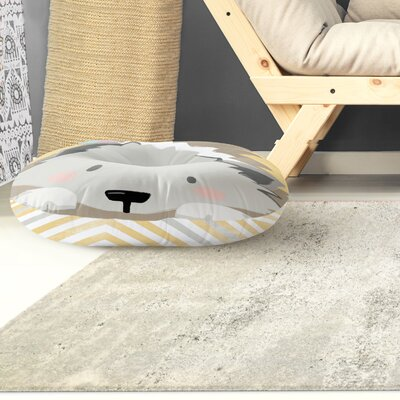 Rindge Hedgehog Outdoor Floor Pillow Size: 26 x 26