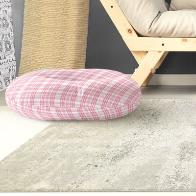 Ridgeley Plaid Indoor/Outdoor Floor Pillow Size: 26 H x 26 W x 8 D