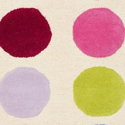 Claro Polka Dot Area Rug Rug Size: Rectangle 3 x 5