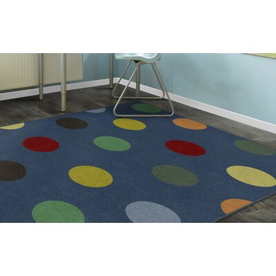 Dahmen Blue Area Rug Rug Size: Rectangle 34 x 5