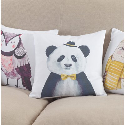 Cooke Panda Cotton Throw Pillow