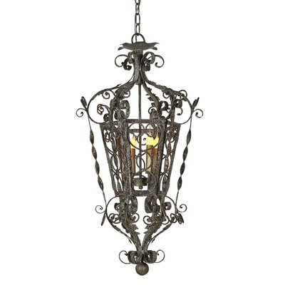 Venetian Wide 4-Light Lantern Pendant