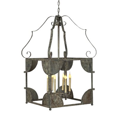 Chelsea 6-Light Lantern Pendant