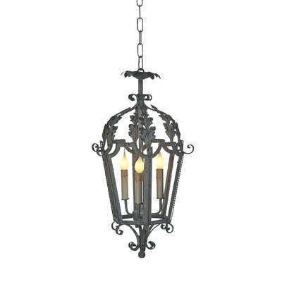 Italian 4-Light Lantern Pendant