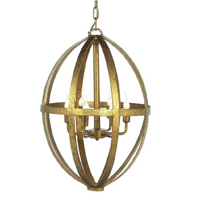 Jessicas 6-Light Geometric Pendant