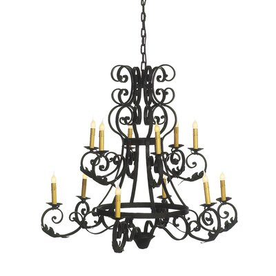 Arizona 12-Light Candle-Style Chandelier