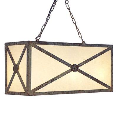 Medallion 8-Light Geometric Pendant