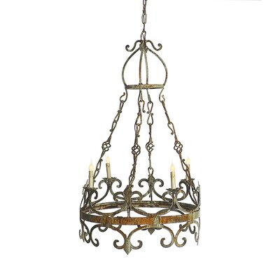 Venetian 3 Tiers 4-Light Candle-Style Chandelier