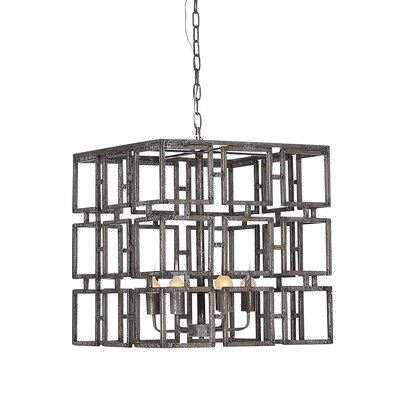 Cubic 6-Light Pendant