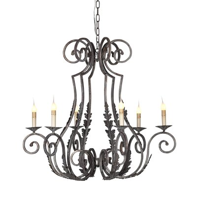 Siena 6-Light Candle-Style Chandelier