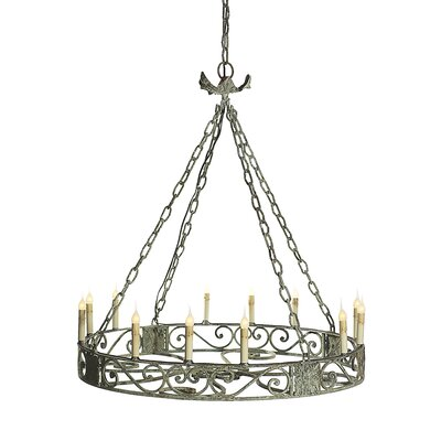 Sparta 8-Light Candle-Style Chandelier